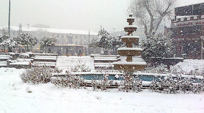 Malatya İçin Kuvvetli Kar Yağışı Uyarısı