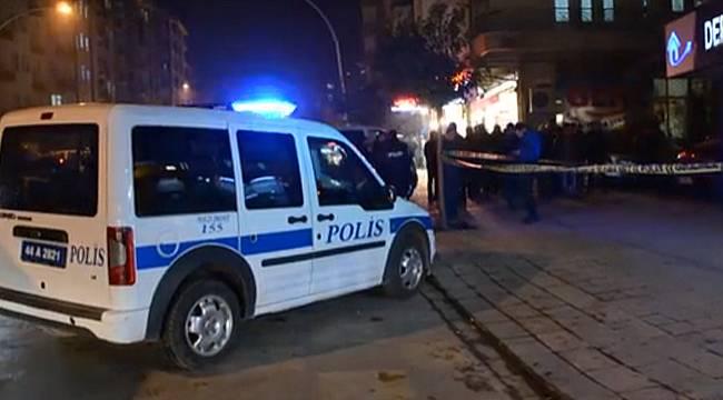 Malatya'da Silahlı Saldırı Alakasız Kişi Yaralandı