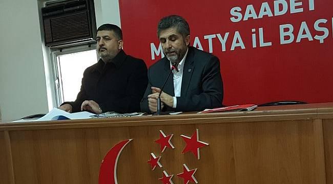Saadet Partisi AKP Yanlış Yapıyor Dedi