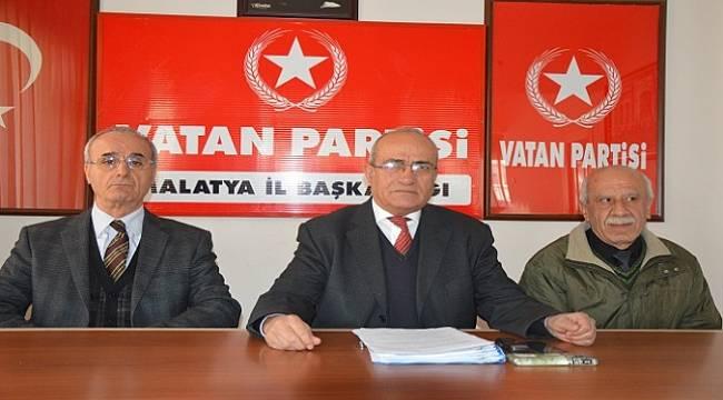 Vatan Partisi AKP'ye Tuzak Hayır Dedi
