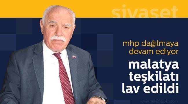 MHP Malatya Teşkilatı Görevden Alındı