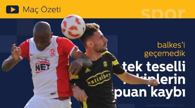 Yeni Malatyaspor Ballı Haftada Yerini Korudu