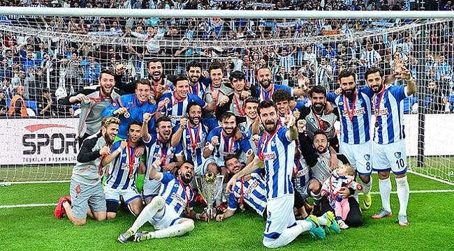 Erzurumspor Play Off'da Galip Gelerek TFF 1.Lig'e Yükseldi