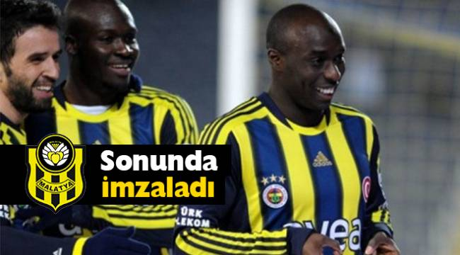 Eski Fenerbahçeli Yıldız Yeni Malatyaspor'a imzayı attı