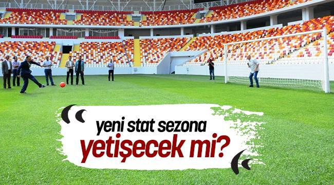 Malatya Valisi Toprak'dan Yeni Stadyumda Canlı Yayın