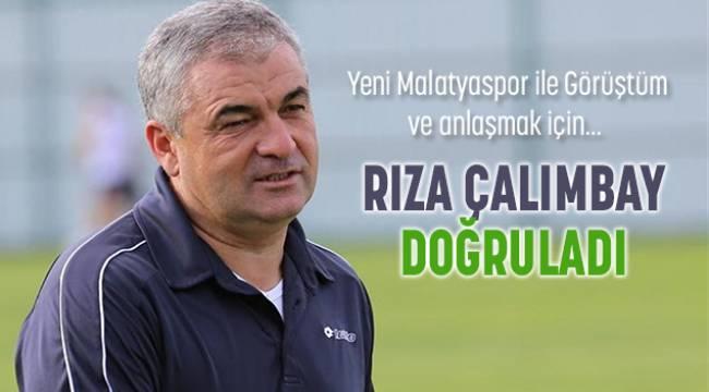 Rıza Çalımbay Yeni Malatyaspor'a Geliyor