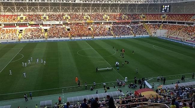 Yeni Malatyaspor Stadında Şok Görüntü