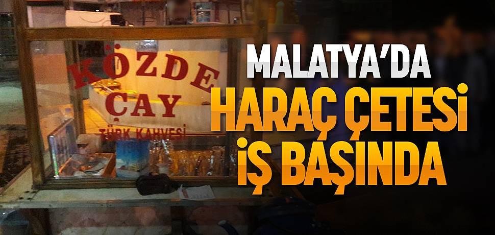 Malatya'da Haraç Çetesi Terör Estirdi