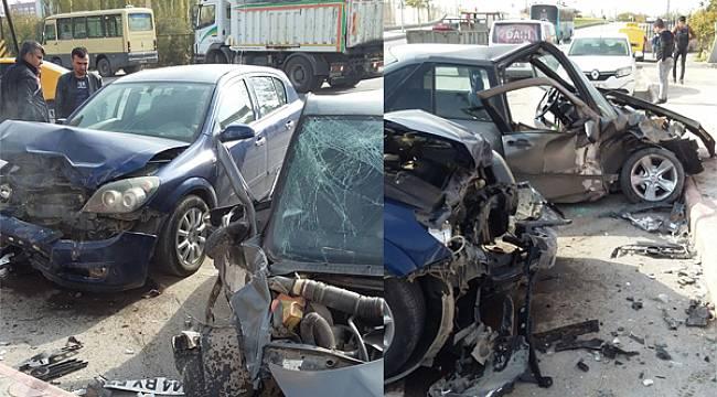 Malatya'da Trafik Kazası 4 Kişi Yaralandı