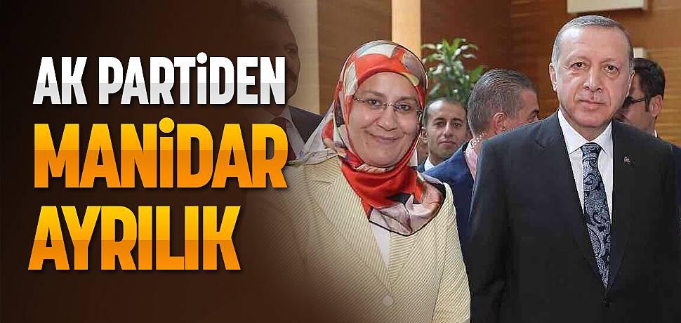 AK Parti Malatya Teşkilatından Manidar Ayrılık
