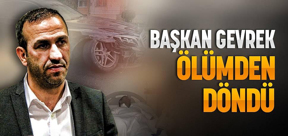 Yeni Malatyaspor Başkanı Adil Gevrek Kaza Yaptı