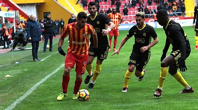 Yeni Malatyaspor Kayserispor'a İlk Acıyı Yaşattı