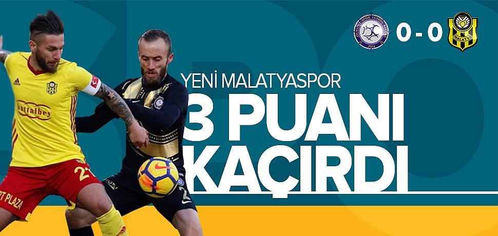 Yeni Malatyaspor Osmanlıspor'u Elinden Kaçırdı