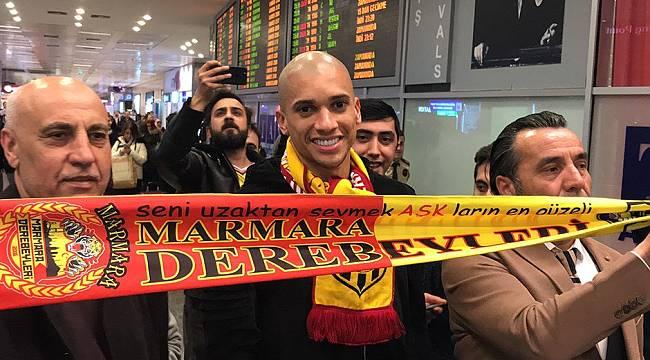 Yeni Malatyaspor'un Yıldızına İstanbul'da Karşılama
