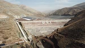 Erkenek Barajı'nda Çalışmalar Devam Ediyor