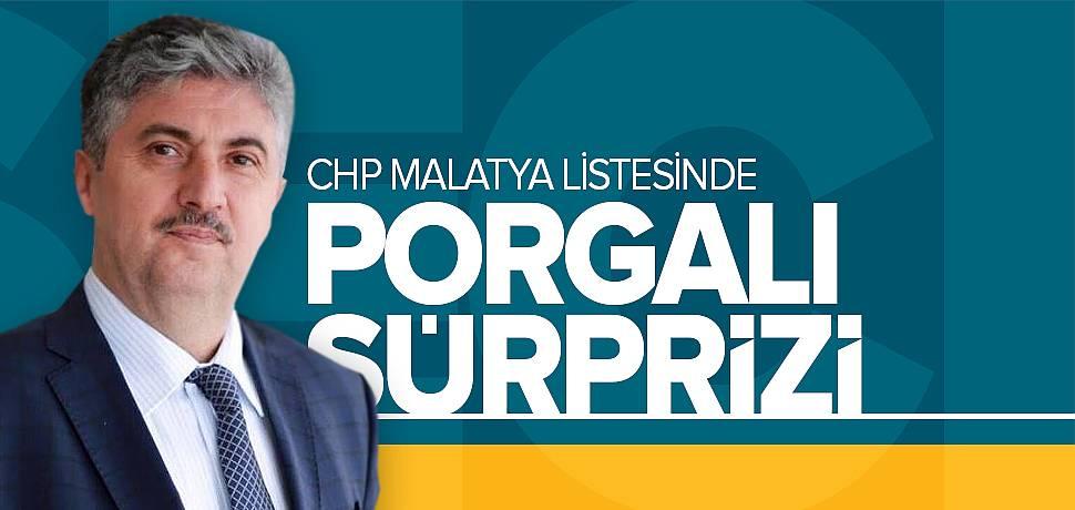 CHP Malatya Listesinde Hulisi Porgalı Sürprizi