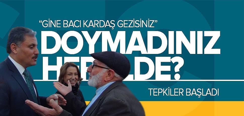 Malatya'da Ahmet Çakır ve Öznur Çalık'a Tepki!