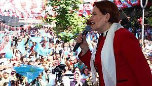 Cumhurbaşkanı Adayı Meral Akşener Malatya'da
