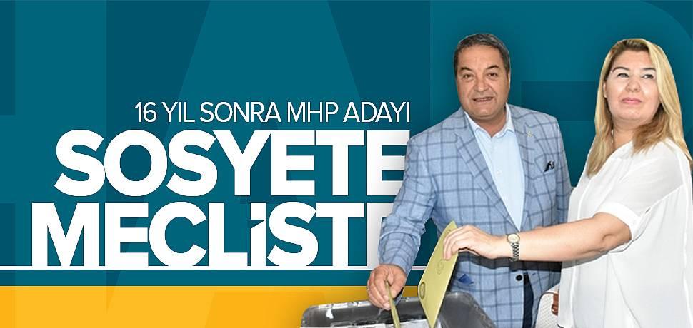 Malatyalı Sosyete Vekil MHP'den Meclise Girdi