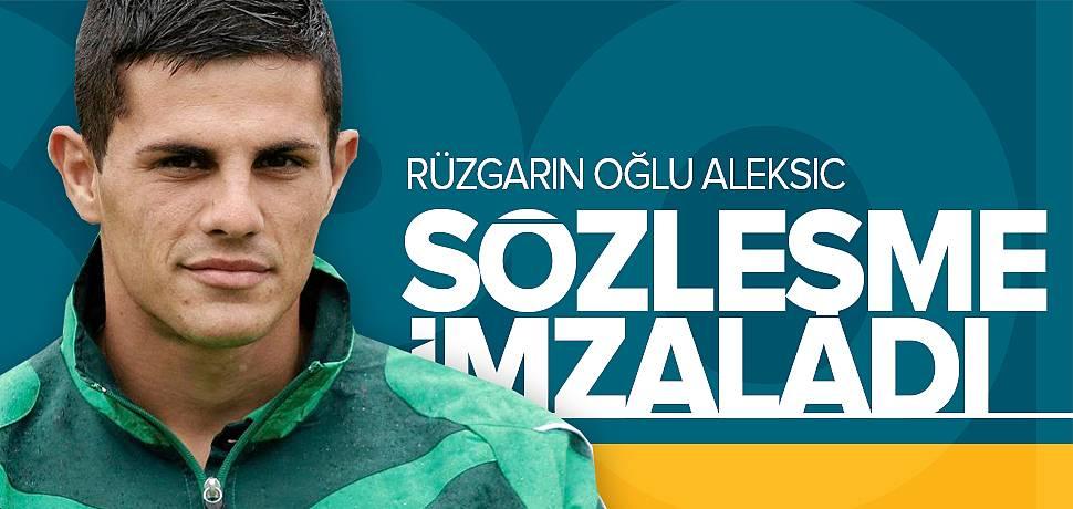 Yeni Malatyaspor Danijel Aleksic'i Transfer Etti