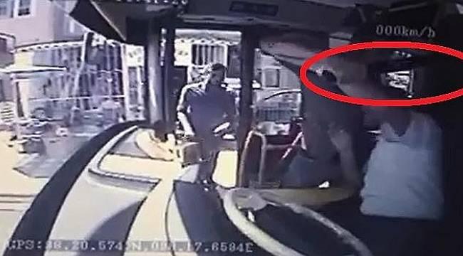 Malatya'da Otobüs Şoförüne Satırla Saldırı