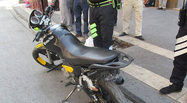 Malatya'da Motorsiklet Denetimleri Yapıldı