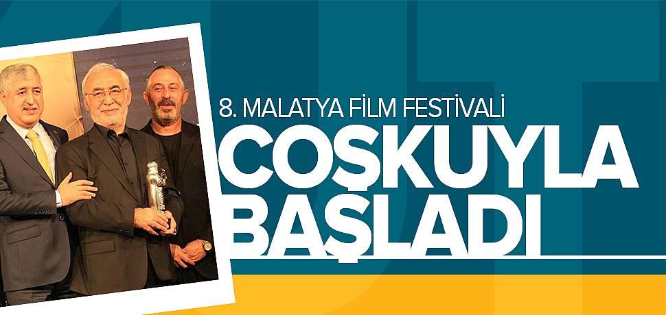 8. Malatya Film Festivali Ödüllerle Başladı