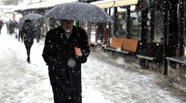 Malatya ve İlçelerde Karlı Yağış Bekleniyor