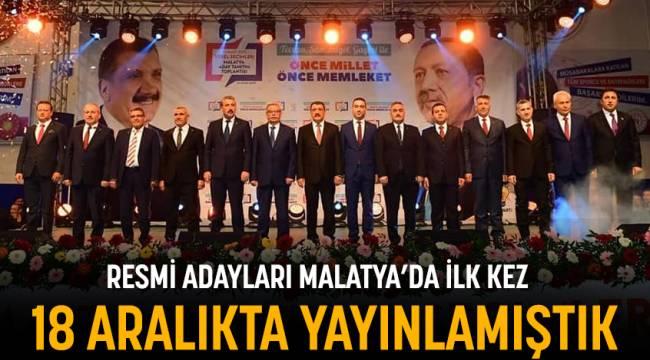 AK Parti Adaylarını 1 Ay Önce Duyurmuştuk