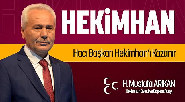Hacı Başkan Hekimhan'ı Kazanır!