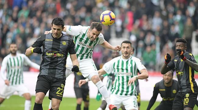 Yeni Malatyaspor Konyaspor'u Elinden Kaçırdı