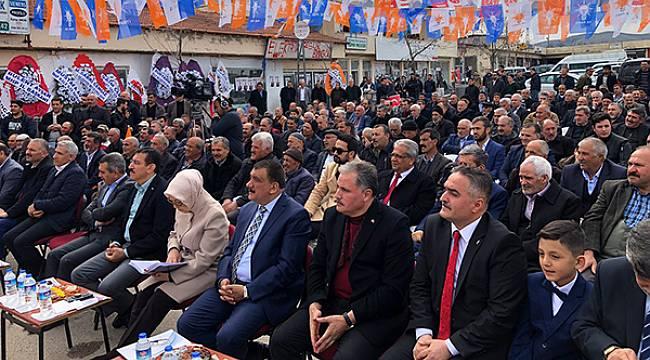 Kale'de AK Parti Gümbür Gümbür Geliyor