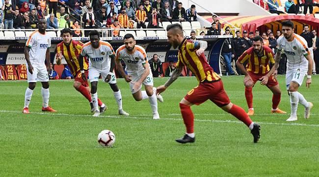 Yeni Malatyaspor Zor Olanı Başardı