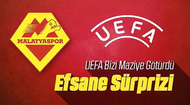 UEFA Yeni Malatyaspor İçin Sürpriz Yaptı