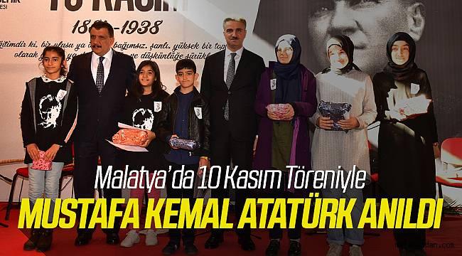 Malatya'da 10 Kasım Töreni Düzenlendi