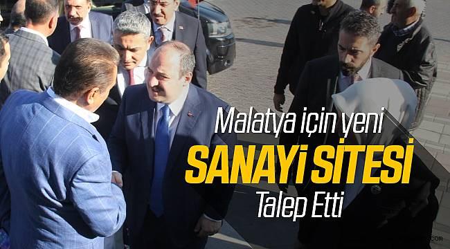 Malatya'ya Yeni Sanayi Sitesi Şart