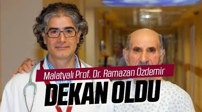 Prof. Dr. Ramazan Özdemir Dekan Oldu
