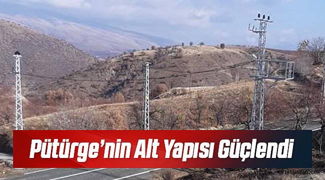 FIRAT EDAŞ'tan Pütürge'ye Dev Yatırım