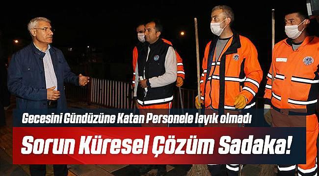Osman Güder'den Sadaka Gibi Destek!