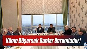 Yeni Malatyaspor Küme Düşerse Bunlar Sorumludur!