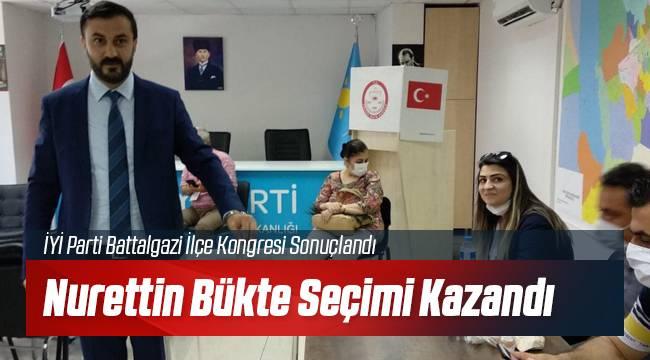 Nurettin Bükte İYİ Parti Battalgazi İlçe Başkanı Seçildi