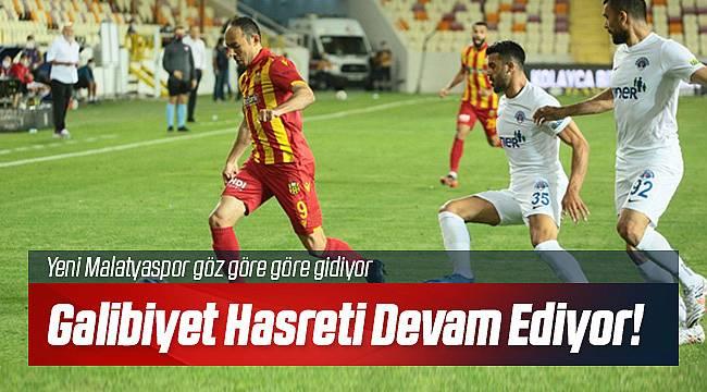 Yeni Malatyaspor Kasımpaşa'ya 2-1 mağlup oldu
