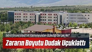 İnönü Üniversitesi Böyle Bir Zarar Görmedi!