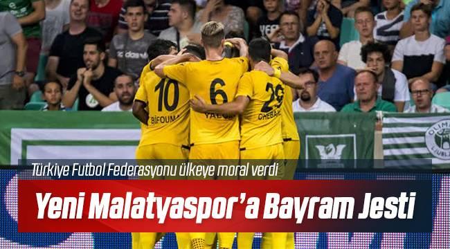 Yeni Malatyaspor'a Talih Kuşu Kondu