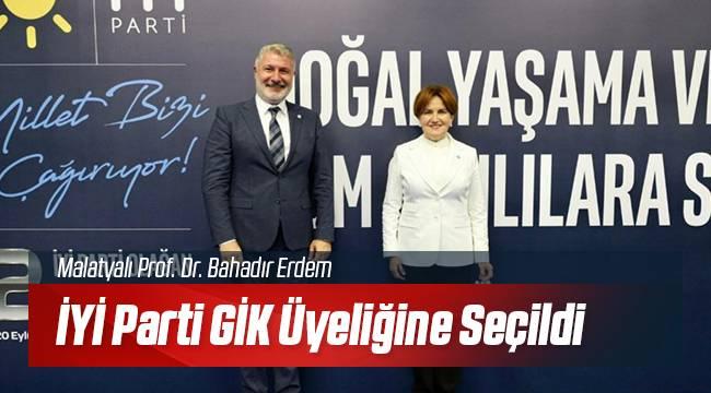 İYİ Parti Malatyalı Güçlü İsmi Kadrosuna Kattı