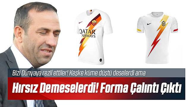 Yeni Malatyaspor Roma Kulübünün Tasarımını Çaldı!
