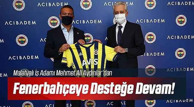 Mehmet Ali Aydınlar'dan Fenerbahçe'ye Açık Çek