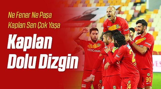 Yeni Malatyaspor Kasımpaşa'yı Devirdi