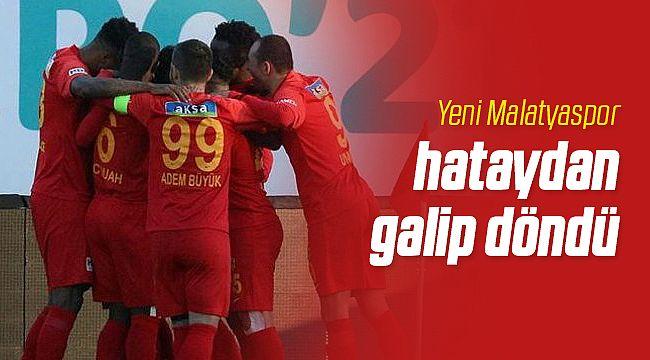 Yeni Malatyaspor Hatayspor'u Devirdi!