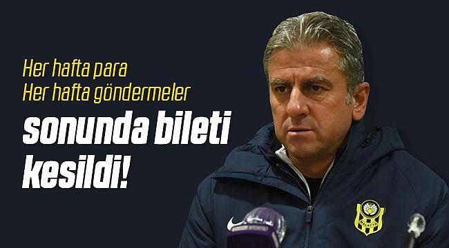 Yeni Malatyaspor'da Beklenen Ayrılık Geldi!